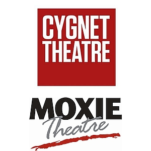 Cygnet Theatre and Moxie Theatre logos