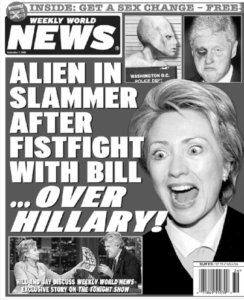 Jeff Rovin worked as an editor for the now-defunct Weekly World News
