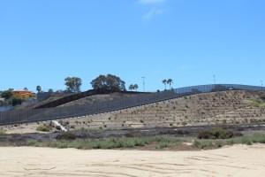 U.S. Mexico Border Double Wall