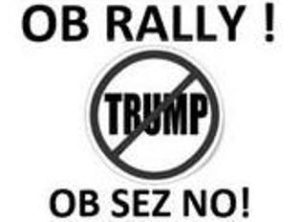 ob anti-Trump rally Trump Protests