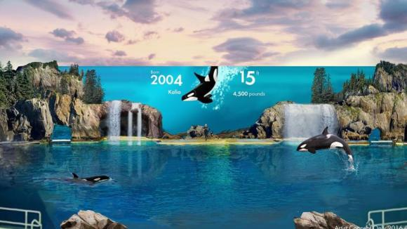 seaworld-fake-facade orca tanks