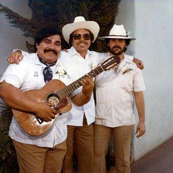 Chunky, Mario, Felipe Esparza Photo courtesy of David Vallodolid