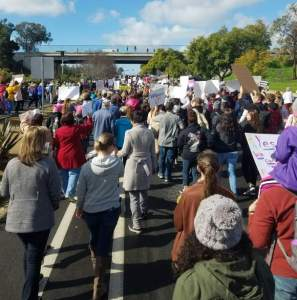 North County San Diego Women's March Surprises Organizers