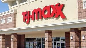 TJ Maxx store facade