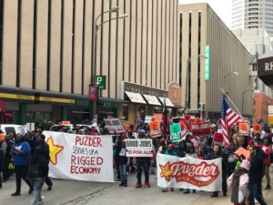 #NotOurLaborSec: Fast Food Workers Protest Puzder Nationwide