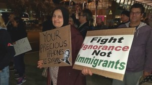 Photo Gallery: Muslim Ban 2.0 Prompts Lindbergh Field Protest