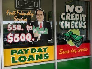 payday lending; predatory loans
