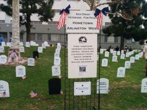 Veterans to Set Up 'Hometown Arlington West' Memorial on Saturday