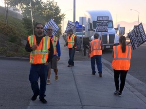 'Sharecroppers on Wheels' Walk Off the Job at Southern California Ports