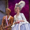 Cashae Monya & Lisel Gorell-Getz of 'The Revolutionists' on stage