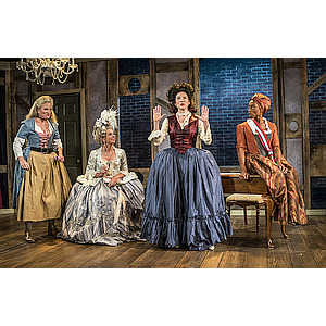 Courage and Camaraderie During the Reign of Terror: Moxie Theatre Produces 'The Revolutionists'