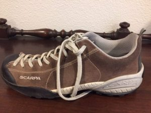Scarpa running shoe