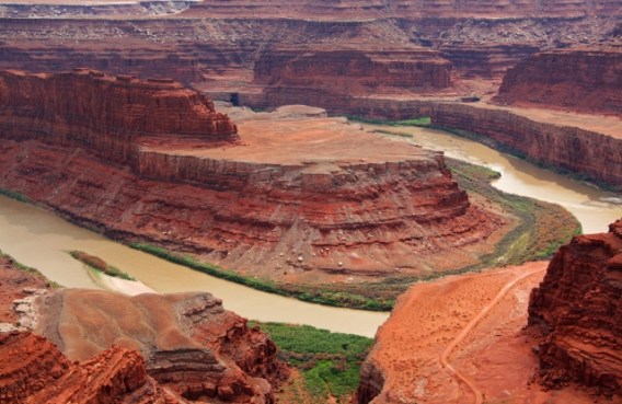 View of Dead Horse Point, Colorado River