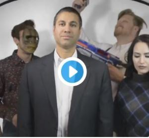 FCC Chairman Ajit Pai's Cameo in an Proud Boys Video: Fun Guy or Closet Extremist?