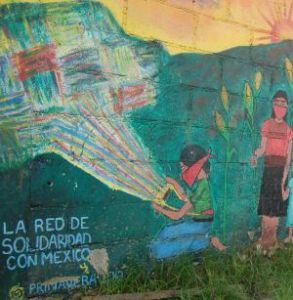 Chiapas Post Card: Crossing Borders