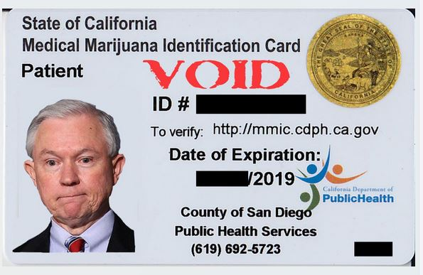 Sample medical marijuana card