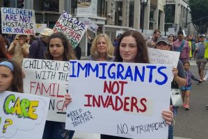 Photo Galleries: A Weekend of #KeepFamiliesTogether Demonstrations Throughout San Diego County