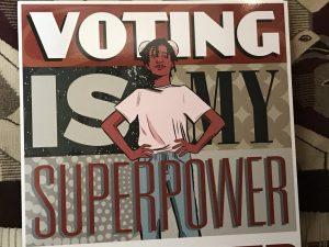 Resistance at Comic-Con: Voting is a Superpower | Progressive Activist Calendar July 20 – 30, 2018
