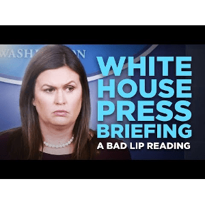 'White House Press Briefing' — A Bad Lip Reading  | Video Worth Watching