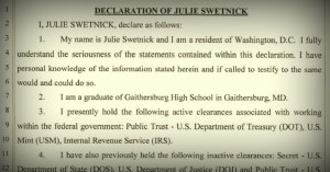 Text of the Declaration by Julie Swetnick, the Third Women to Accuse Kavanaugh of Sexual Misconduct