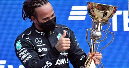 F1 results: Lewis Hamilton claims historic 100th Formula 1 victory at Russian  Grand Prix - San Diego Local Directory