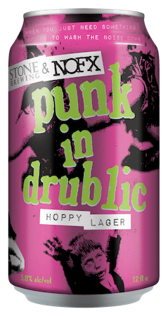 Stone Brewing NOFX Punk in Drublic Hoppy Lager