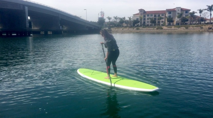 how to stop and turn your paddle board