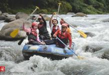 Progo Rafting Magelang sandi iswahyudi