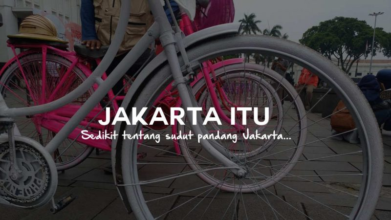 Jakarta itu sandi iswahyudi