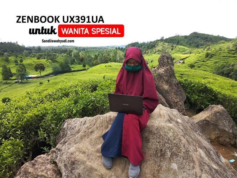 laptop Zenbook UX391UA sandi iswahyudi kawah putih