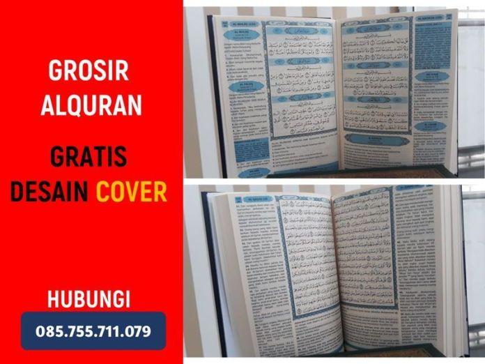 Grosir Alquran Tilawah, Bisa Pesan Cover, Diskon BESAR (Padang Brahrang Selesai Langkat)!