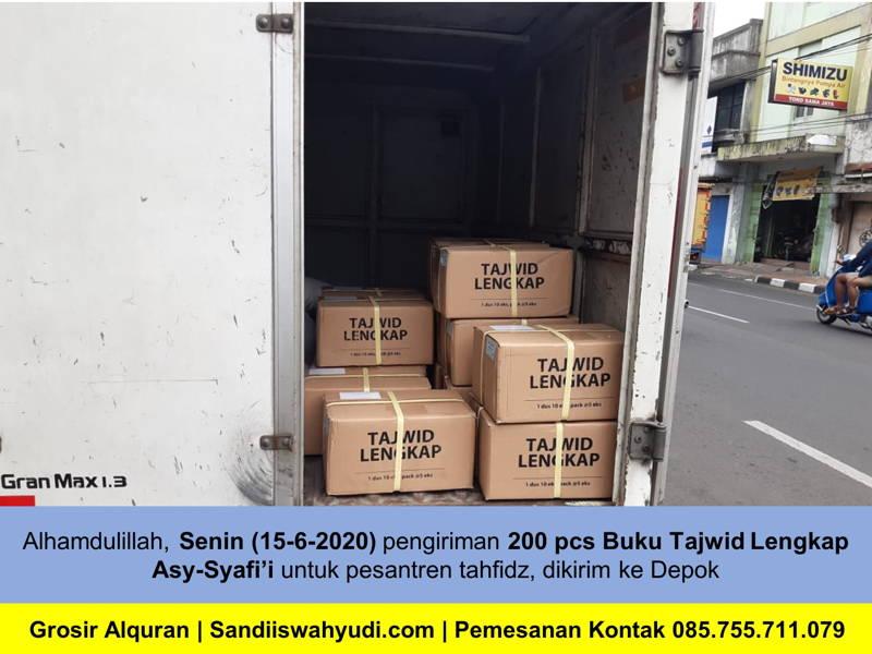 200 Buku Tajwid Lengkap Asy-Syafi'i untuk Pesantren Tahfidz depok