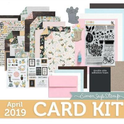 Simon Says Stamp – Hello Darling – April Card Kit