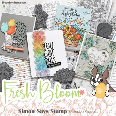 Simon Says Stamp – NEW RELEASE – FRESH BLOOM