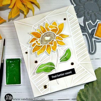 Simon Says Stamp Sunflower Stem