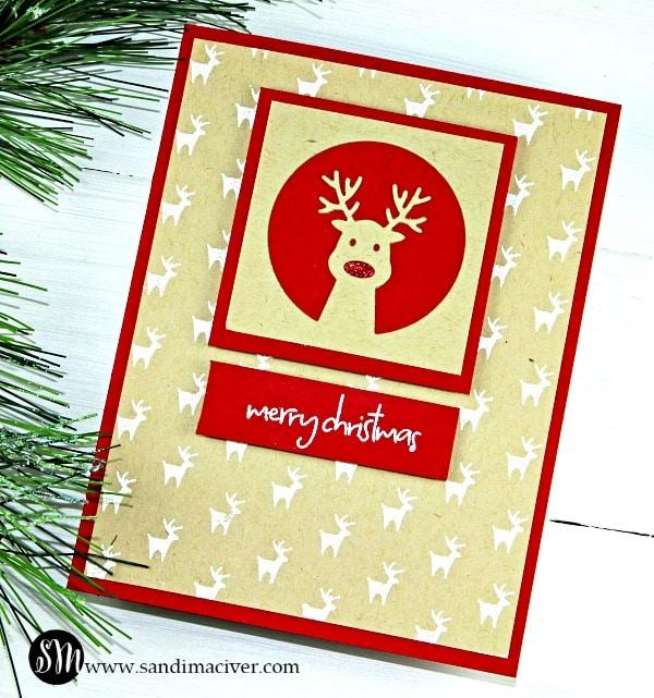 Ho Ho Deer from Simon Says Stamp