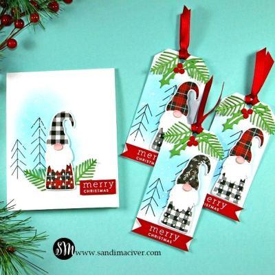 Christmas Gnomes and Tags