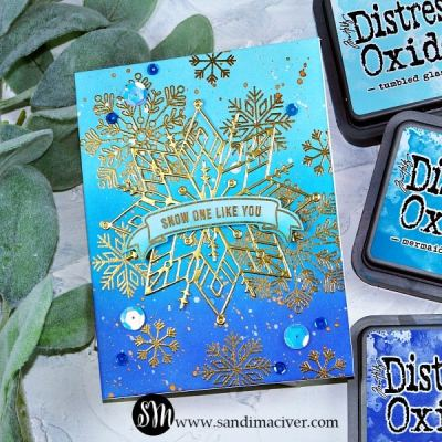 NEW VIDEO – Distress Oxides Color Combos and Cards #2