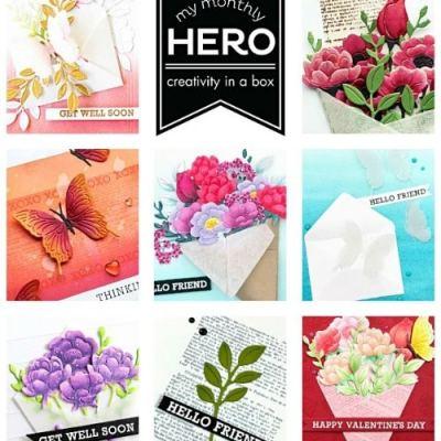 January 2020 My Monthly Hero Kit