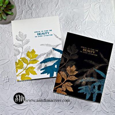 Cardmaking with Altenew Dot Botanical
