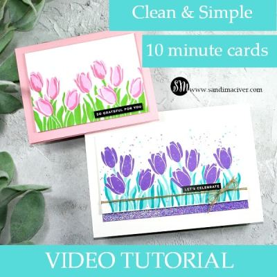 New Video – Learn How to Two Step Stamp