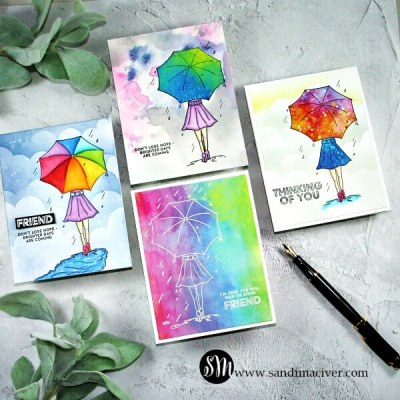 NEW VIDEO – April Follow The Rainbow Card Kit