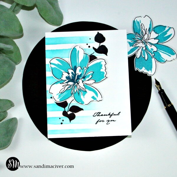 Altenew Flora Art Simple Layered Stamping 3