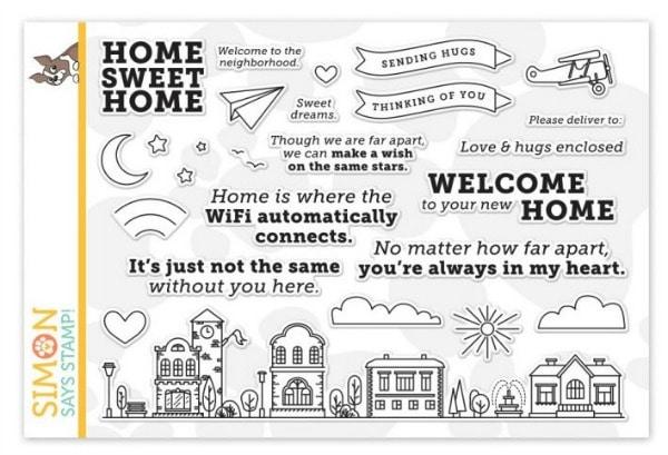 Simon Says Stamp Home Sweet Home Stamp Set