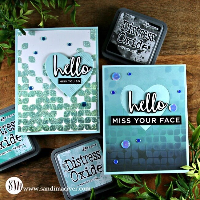 Distress Oxide Ink Techniques Easy Layered Backgrounds #4