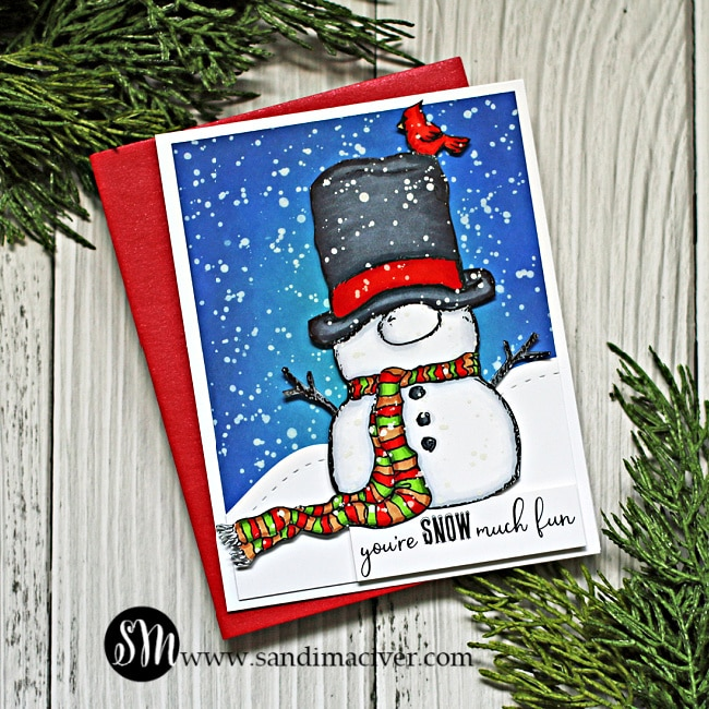 Unity Stamp Company SNOWMIE