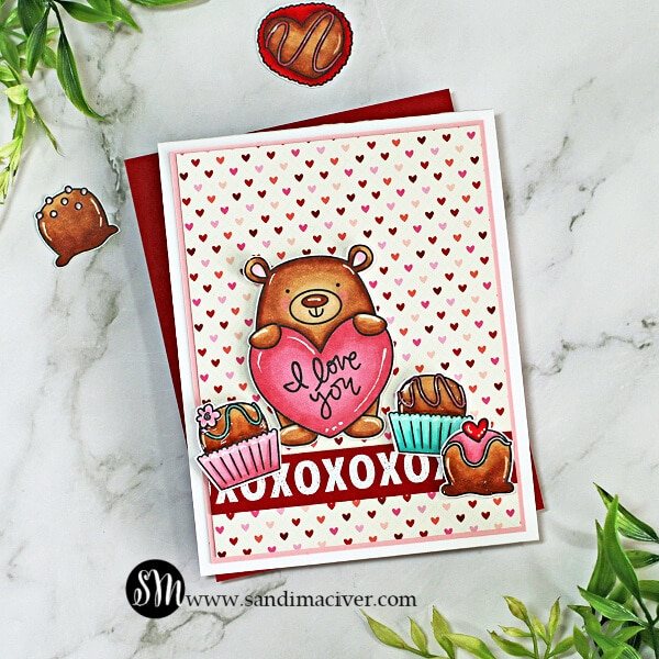 Simon Says Stamp Love you Beary Much