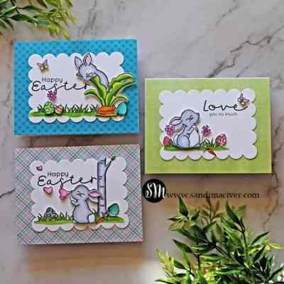 Simon Says Stamp Bunny Blessings Easter Cards