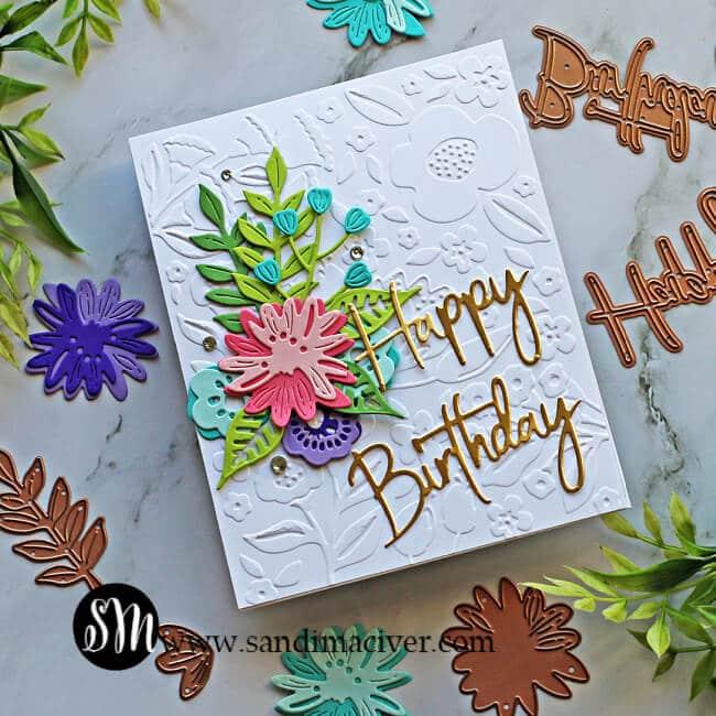 Spellbinders Simply Perfect cards