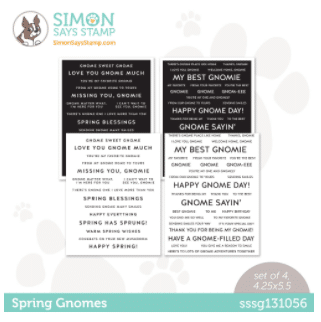 Spring Gnomies Limited Edition Card Kit